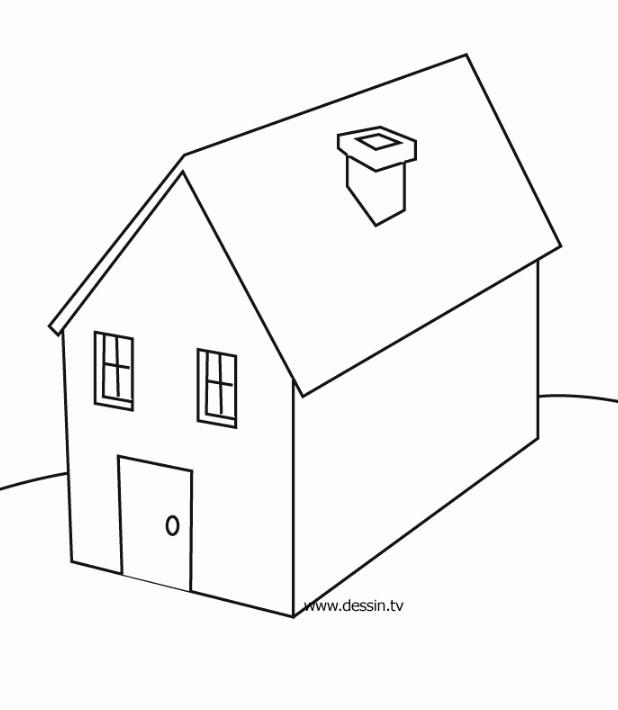 Dessin De Maison Facile 014 05 Choosewell Co House Plans Architect Design Architect