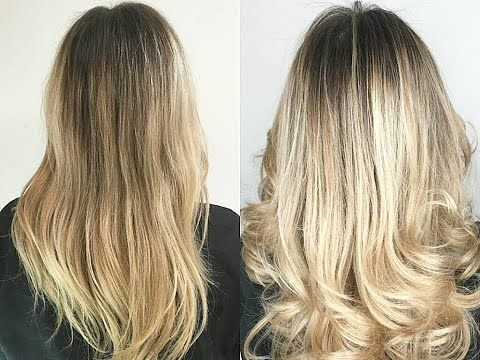 New Blonde Hair By Myriam K Paris Angeliahair Patine Cheveux Patine Blond Cheveux