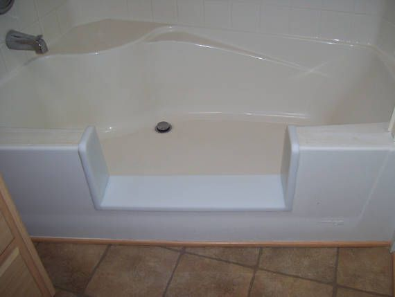 Custom Garden Tub Bathtub To Walk In Shower Conversion Kit Tub