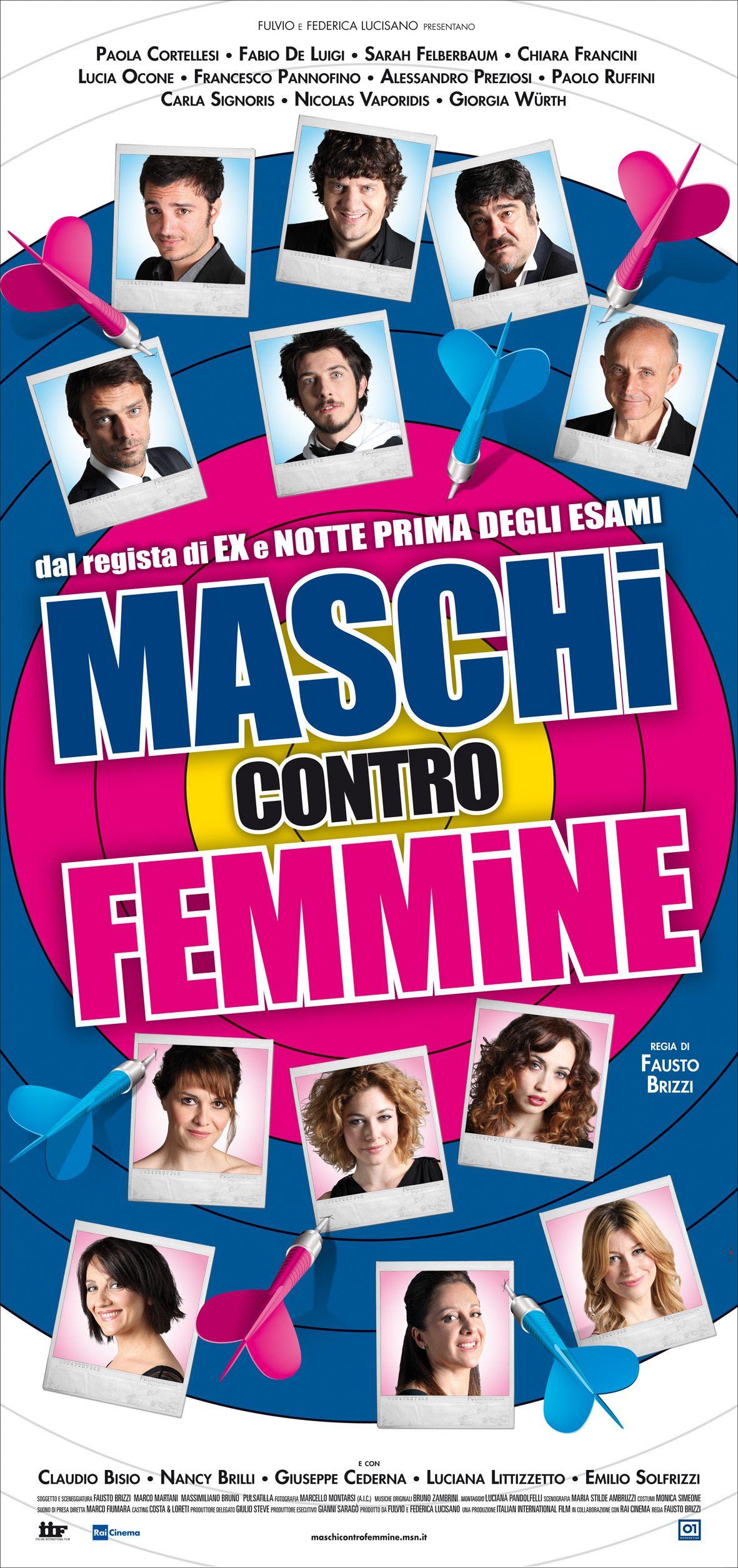 Maschi Contro Femmine Di Fausto Brizzi 2010 Femminismo Registi Commedia