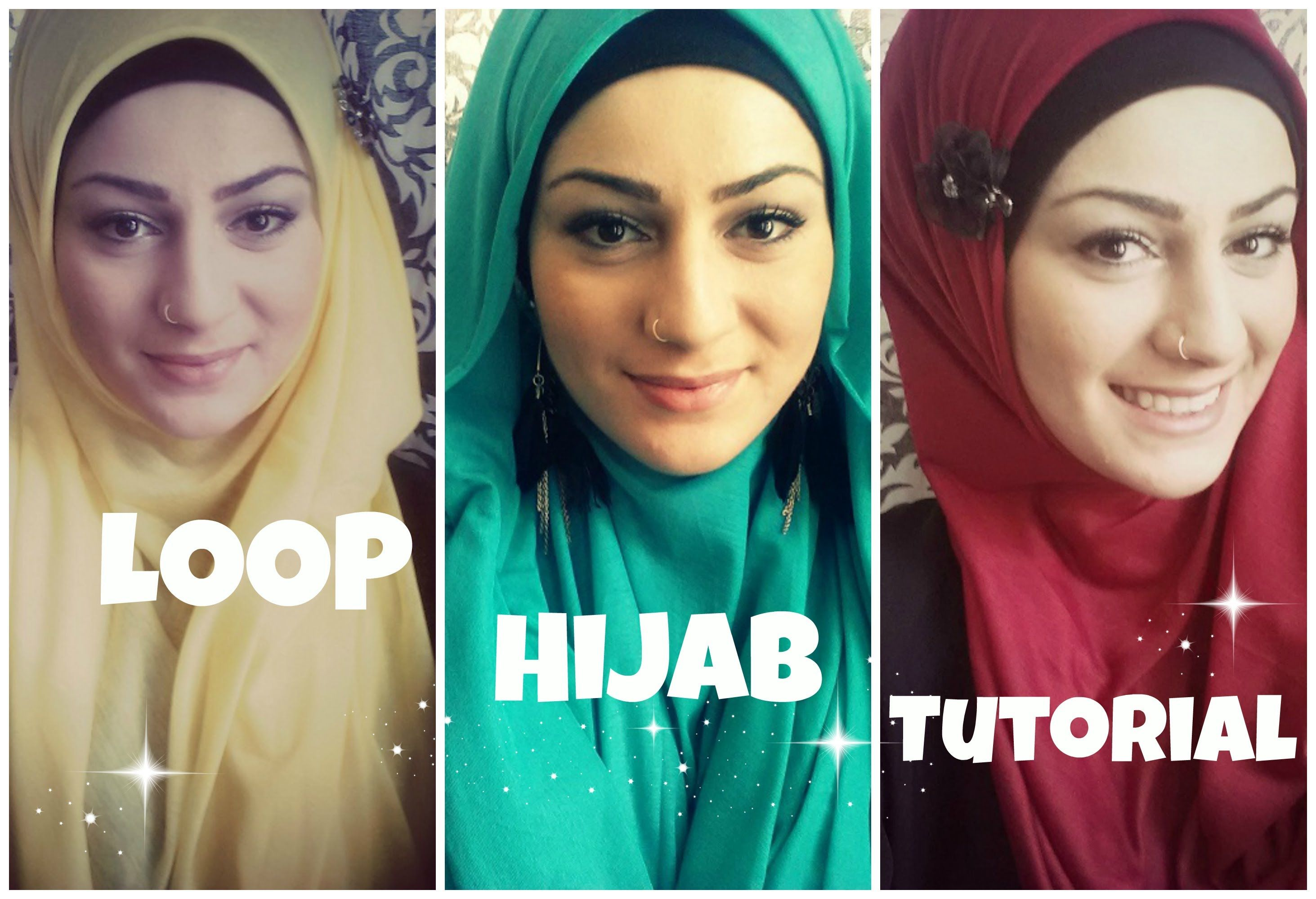 Hijab Tutorial Hijabs And Tutorials On Pinterest