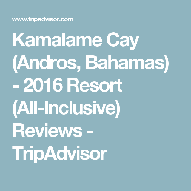 Kamalame cay andros bahamas 2016 resort all inclusive reviews kamalame cay andros bahamas 2016 resort all inclusive reviews publicscrutiny Images