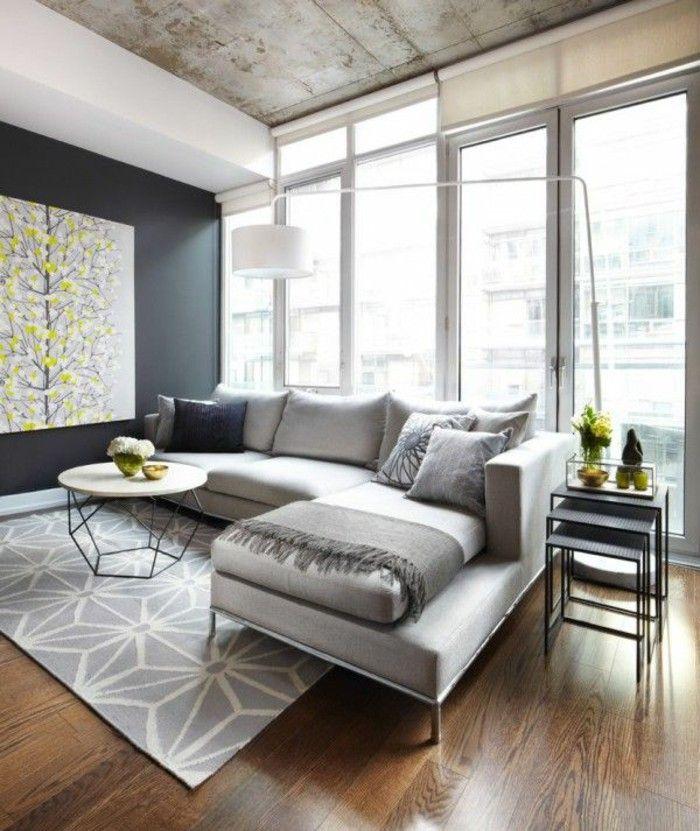 Modern Sofas Sofa Living Room Carpet Fancy Ceiling Design Flowers
