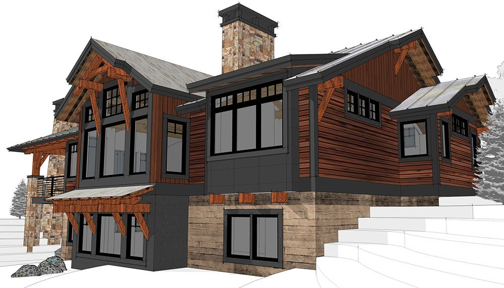 Yount Timber Frame Home Designs