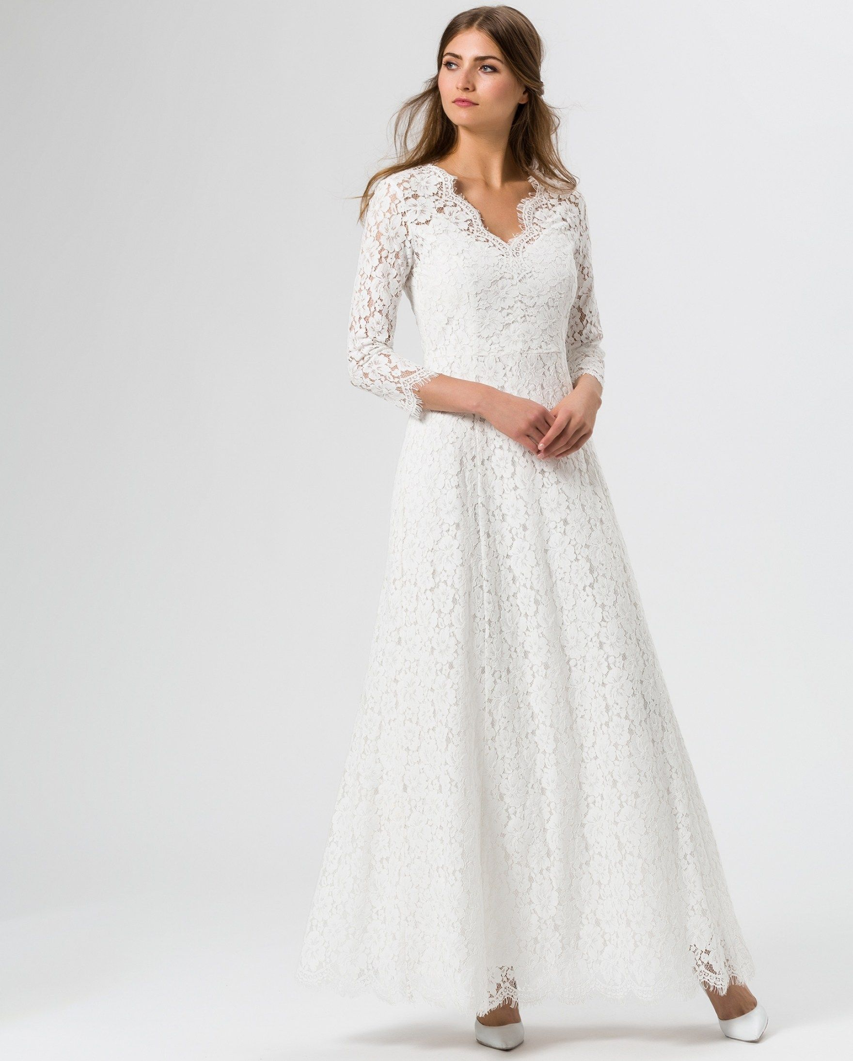 fc6375ab7f3a flared lace dress snow white ivy oak pertaining to snow white wedding  dresses