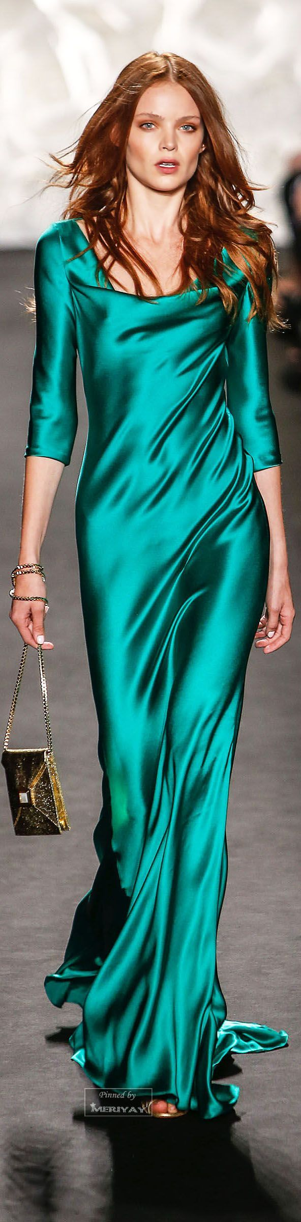 Sensational And Sensual Satin Dresses To Make You Shimmer | Satin ...