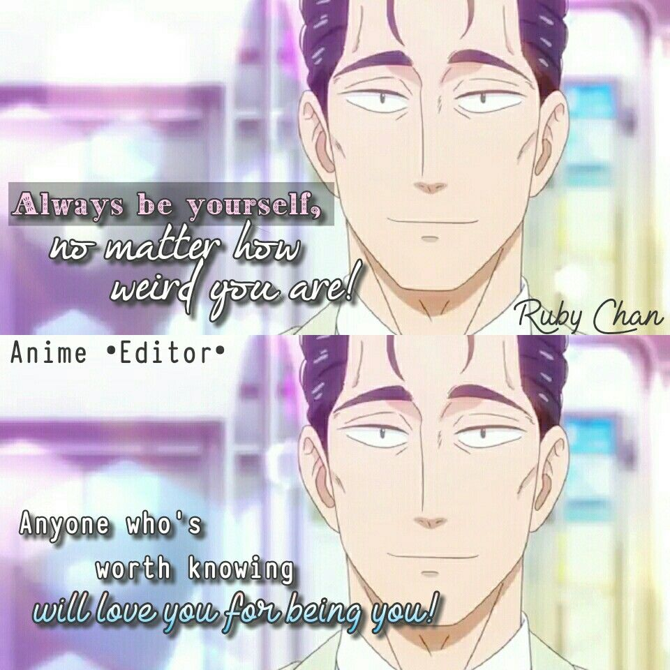 Anime love is like after the rain anime quotes anime •editor