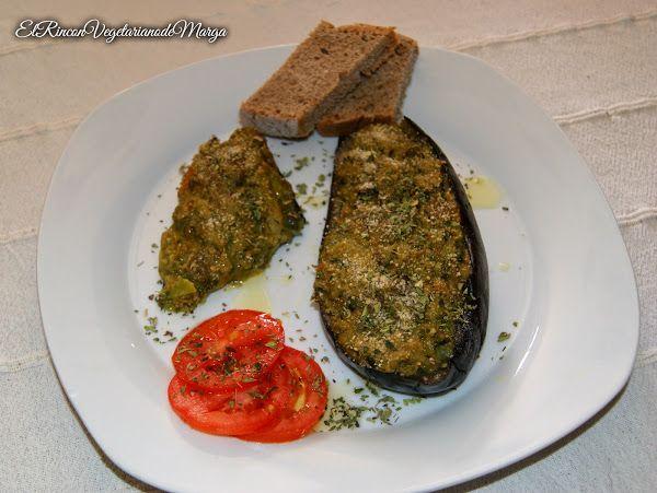 Berenjenas rellenas de verduras y aguacate | Cocinar en casa es facilisimo.com