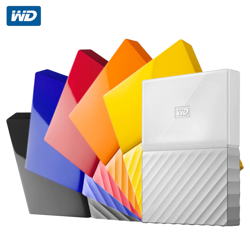 Western Digital My Passport Hdd 2 5 Usb 3 0 Sata Portable Hdd Storage Memory Devices External Hard Drive Disk 1tb 2tb 4 External Hard Drive Hard Drive External
