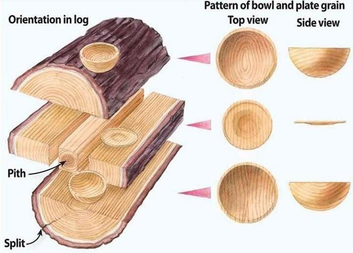 Best Parts Of A Log For Turning