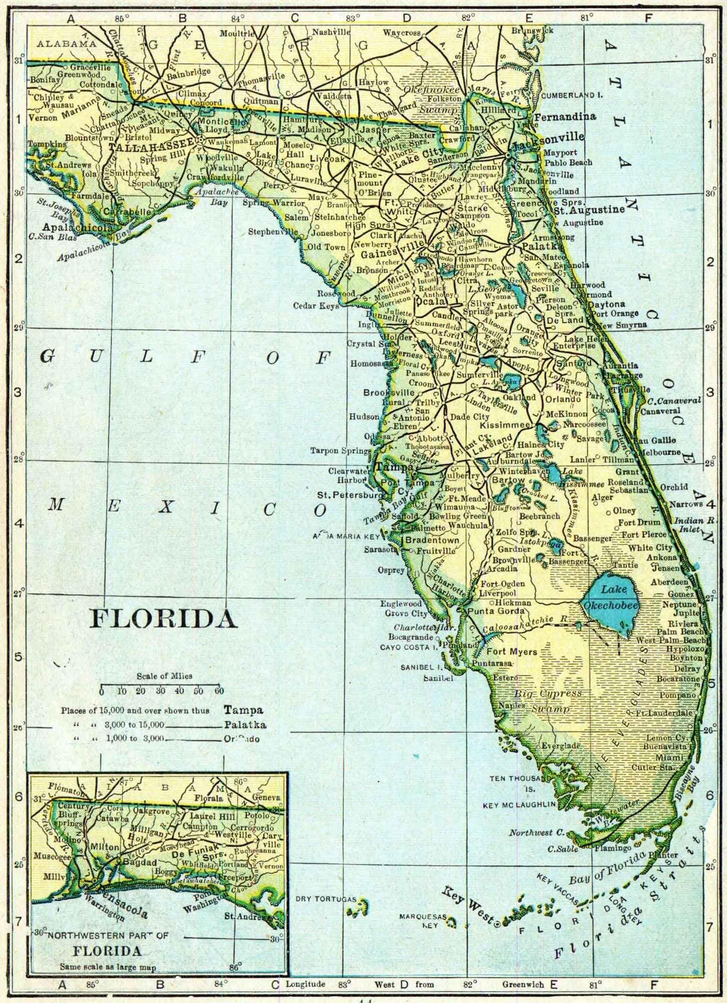 Resultado De Imagen Para Census Hendry County Florida Maps - Free us county maps