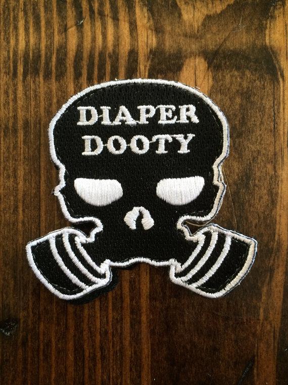 Diaper Dooty Tactical Diaper Bag Patch Baby Stuff