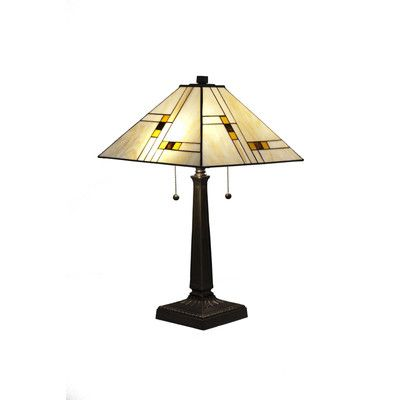 """DynamicWay Serena d'italia 23"""" H Table Lamp with Empire Shade"""