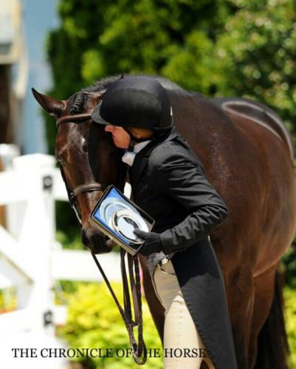 Kelley Farmer had a stellar day at the Devon Horse Show. h is for hugs and horses!