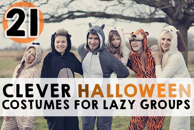 Halloween Costumes for Lazy Girls