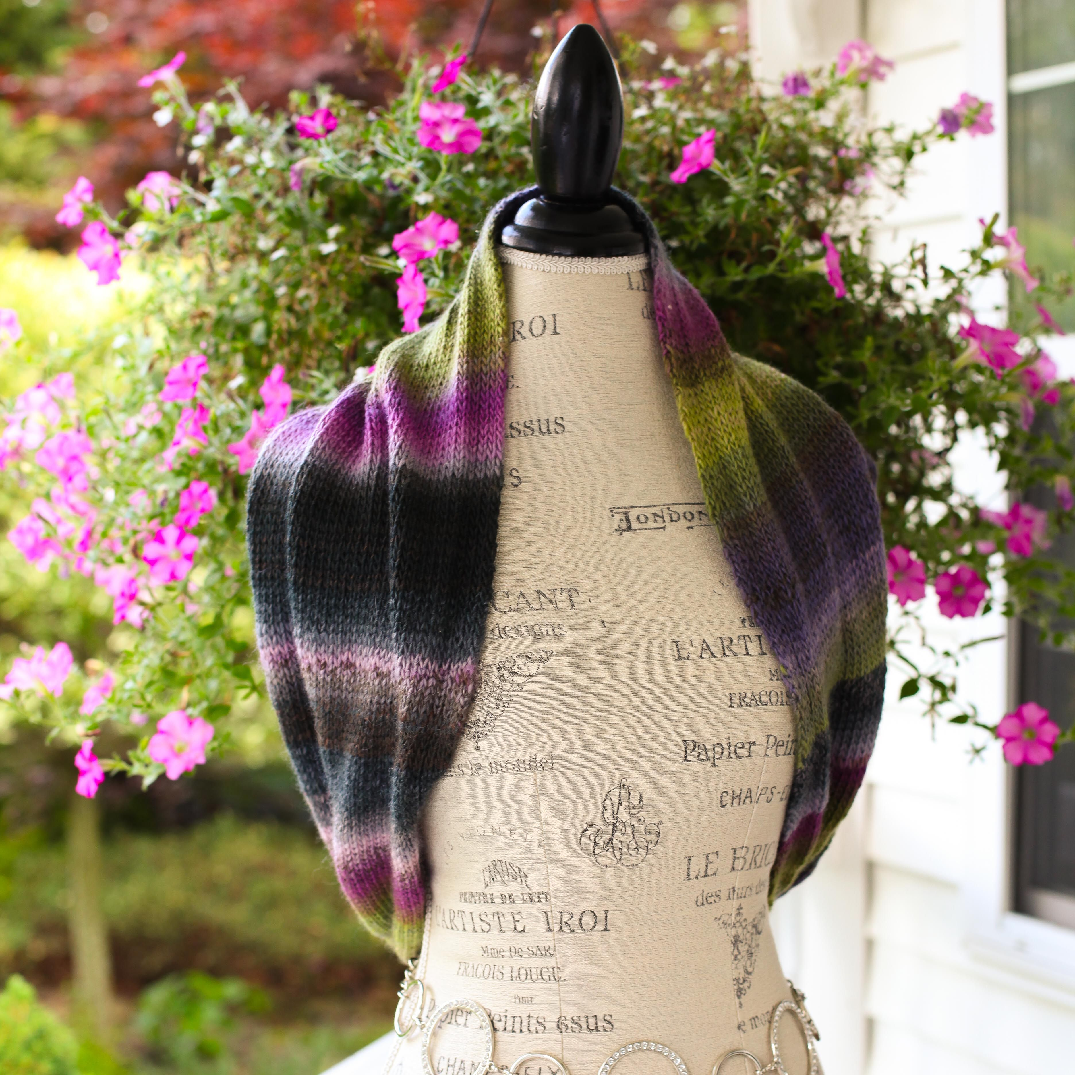 Contemporary Loom Knit Vest Pattern Adornment - Decke Stricken ...