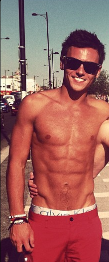 Tom Daley; British Diving Team
