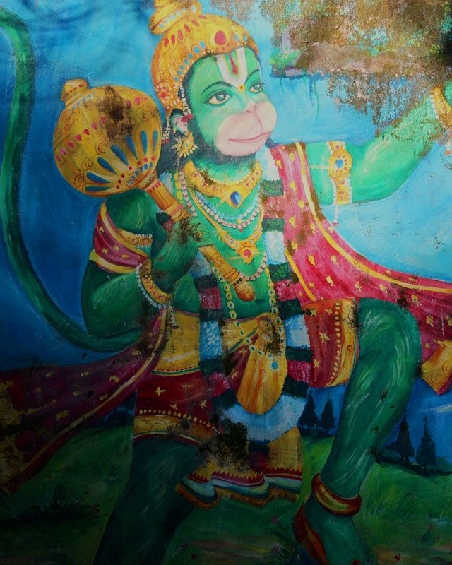 Lyrics Meaning And Benefits Hanuman Chalisa Painting Lord Hanuman