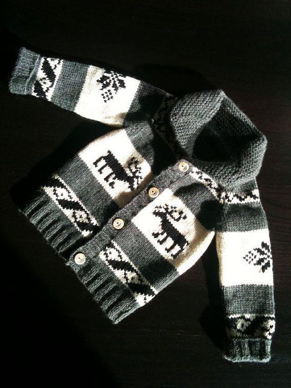 b7937e27d6db91 Cowichan style sweater for wee ones!