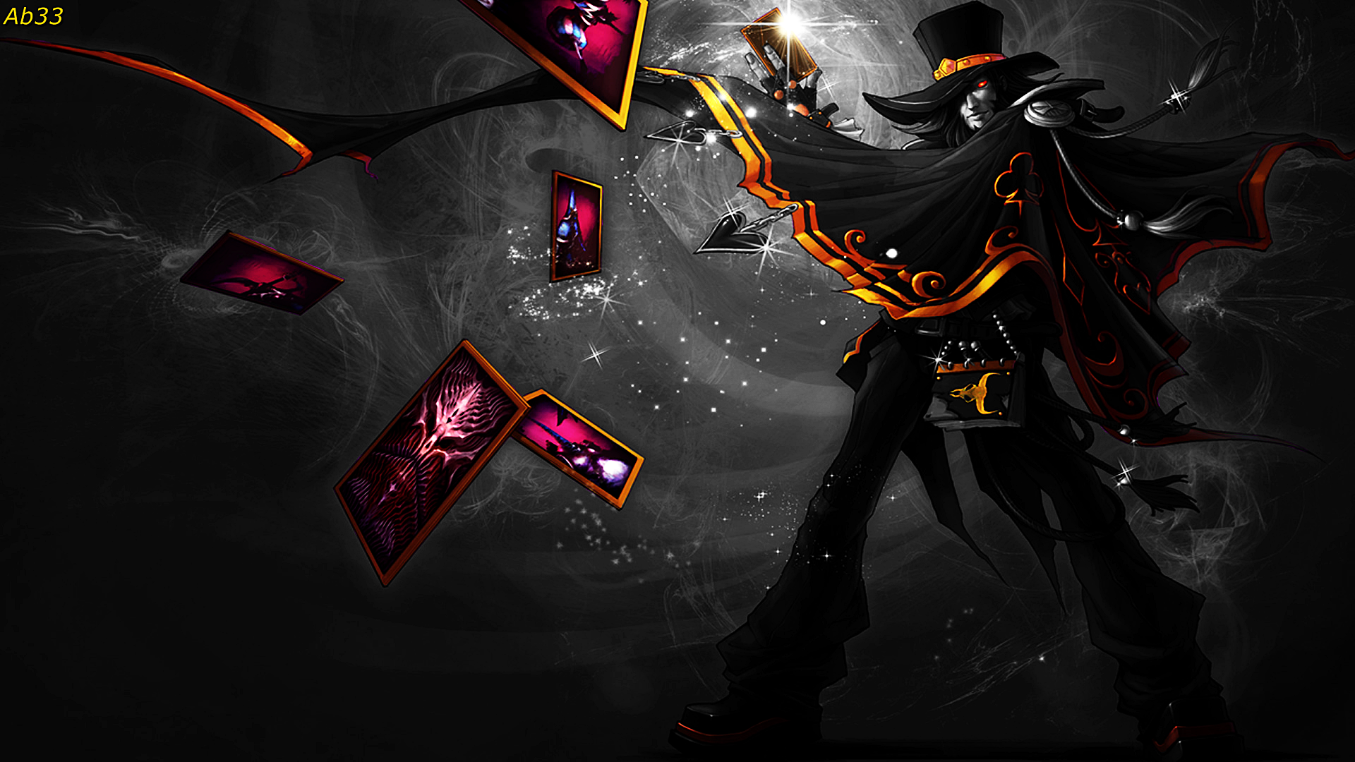 1920x1080 league of legends twisted fate magnificent black and white 1920x1080 league of legends twisted fate magnificent black and white voltagebd Images