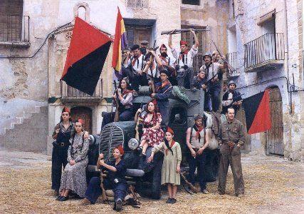 Photo tirée du film de Vicente Aranda, Libertarias (1996