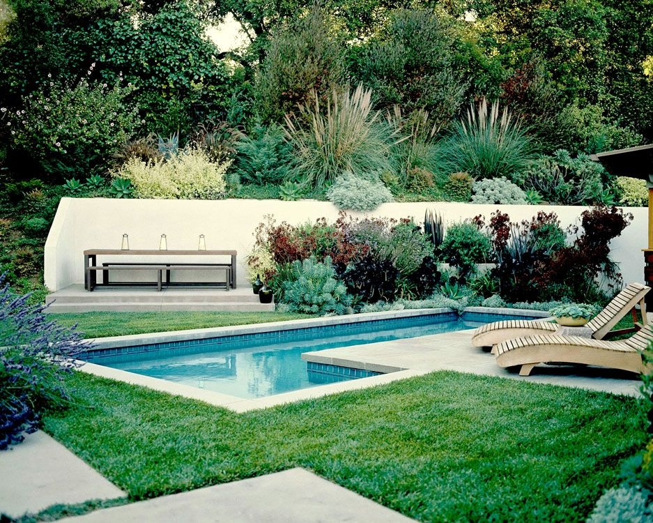 small home, small pool.  perfection.
