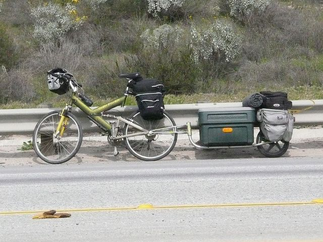 Are We Kidding Ourselves With Our Bug Out Bags Bicycle Trailer Bike Camping Cargo Bike