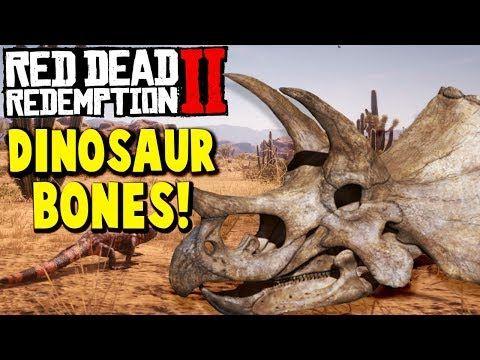 red dead redemption 2 dinosaur bones