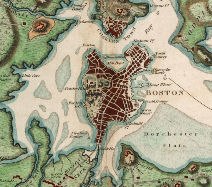 Tour Of Boston S Historic South End Boston Map World Map Art Old Maps