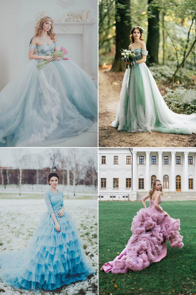 26 Ethereal Wedding Dresses That Look Like They Belong In Fairy Tales