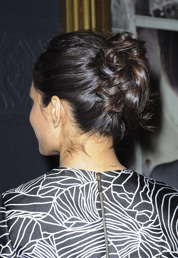 25 Easy Updos For Long Hair | StyleCaster