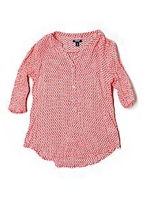 Practically New Size Med Old Navy 3/4 Sleeve Blouse for Women