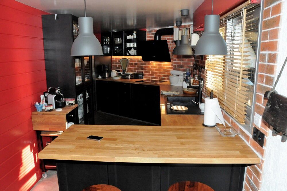Notre cuisine laxarby cuisine noire pinterest cuisine for Cuisine laxarby