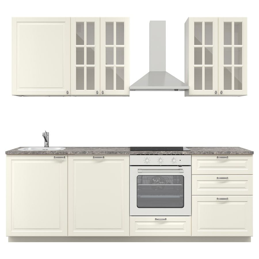 METOD МЕТОД Кухня – белый/Будбин белый – IKEA