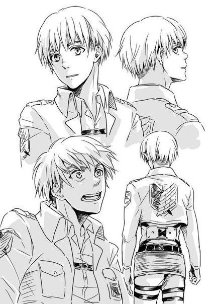 Armin >Attack on titan