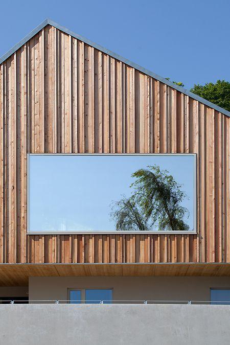 Photo of Neubau Haus Fluor Fassade Haus Neubau #Fassade #Neues Gebäude