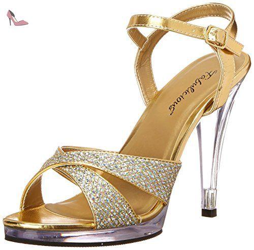 Size 46 Fabulicious 419 g Flair Uk Multi Gold Eu Glitterclr 13 n7Ywgv