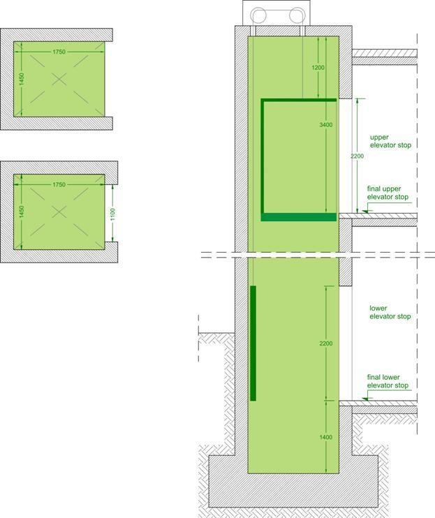 12++ Elevator for 2 story building ideas