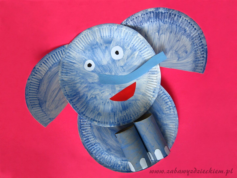 Slon Z Talerzyka I Rolek Travel Pillow Pillows Play