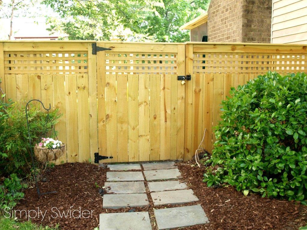 Image result for fence gate pergola   Fences   Pinterest   Fences ...