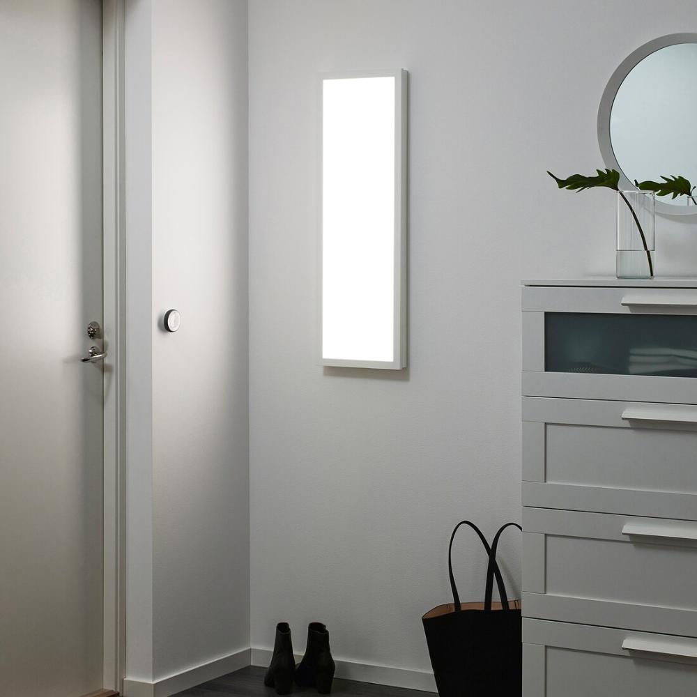 Ikea Floalt Dimmable White Spectrum Led Light Panel In 2020 Led