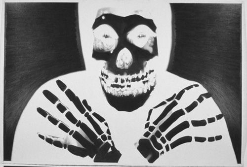Banks Violette 'X-Ray (Misfits)' Drawing