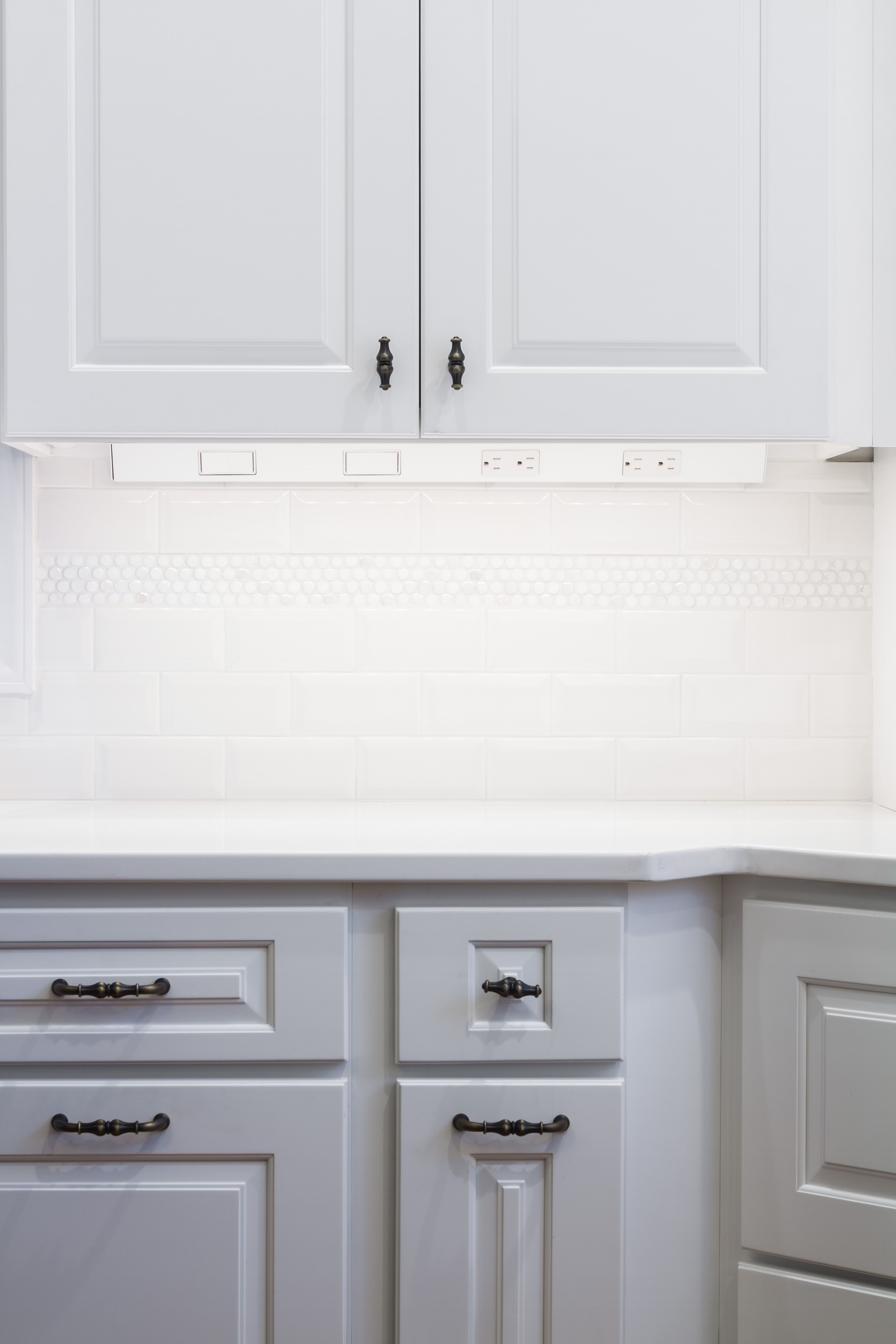 Save Your Backsplash W Angle Power Strips Cabinets And Countertops Under Cabinet Outlets Power Strip