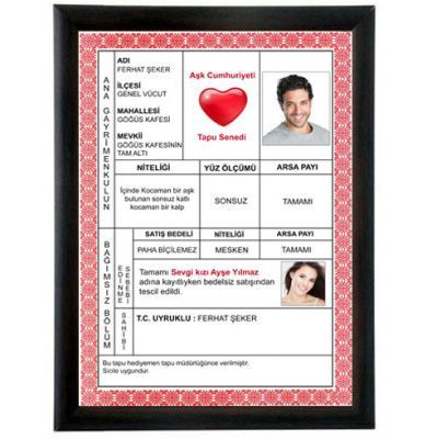 Photo of Valentine Special Love Deed | I Hediyemen.co