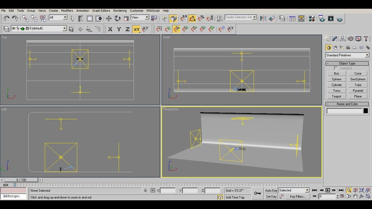 How To Create Vray Studio Lighting Setup in 3ds Max For Beginner