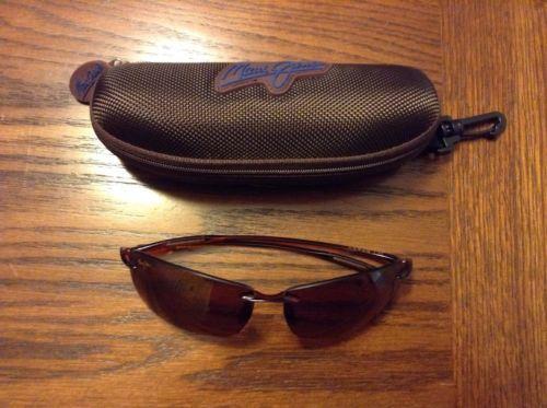 awesome Maui Jim Sunglasses, Lighthouse, Brown POLARIZED lenses 65 mm Eyesize MJ-423-11