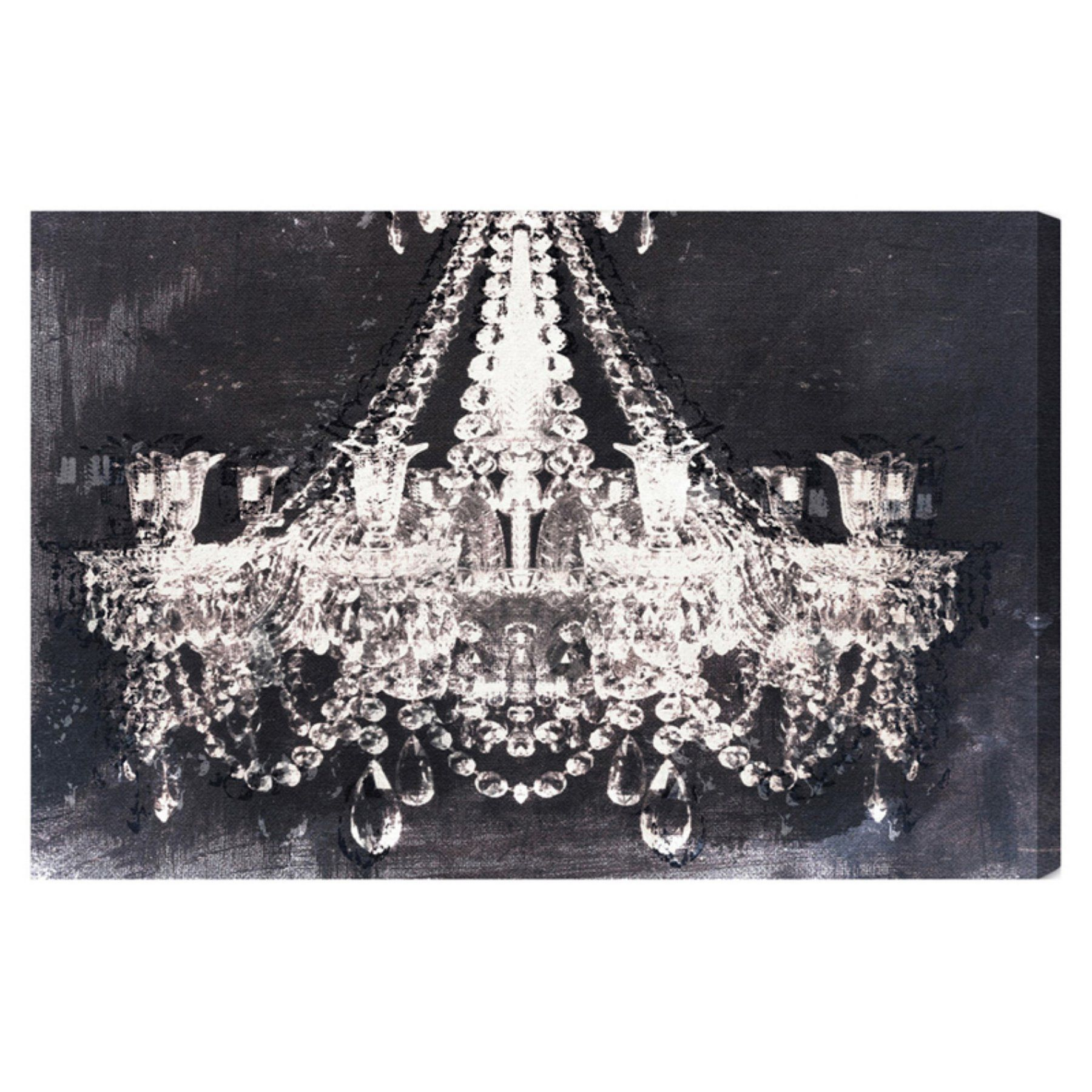 entrance of diy night large chandelier the awesome canvas dramatic pinterest art wall