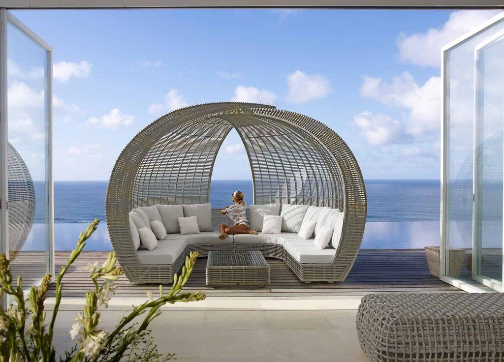 Skyline Castries Sparta Pavilion Outdoor Day Bed | Homelia ... on Sparta Outdoor Living id=33652