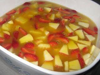 مقادير سلطة الفواكه مع العصير طريقة تحضير سلطة الفواكه مع العصير Cooking Fruit Salad Food