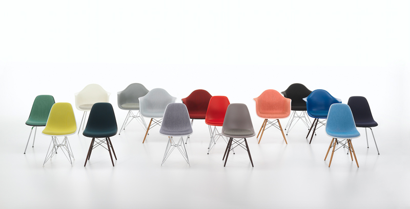 Eames Plastic Chair Installation At Ldf 2017 By Vitra Eames Plastic Chair Vitra Chair Eames Side Chair